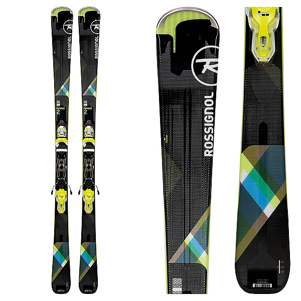 Rossignol Famous 2 Womens Skis with Xpress 10 Bindings 2018, , 600