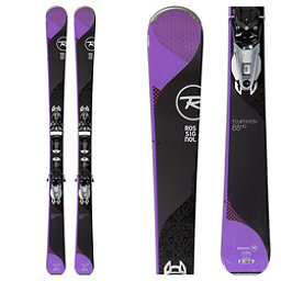 Rossignol Temptation 88 HD Womens Skis with NX 12 Konect Bindings 2018, , 256