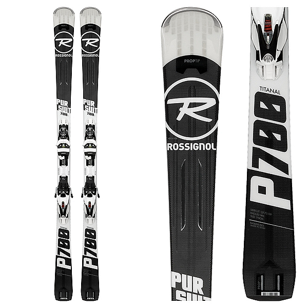 Rossignol Pursuit 700 Ti Skis with SPX 12 Konect Bindings, , 600