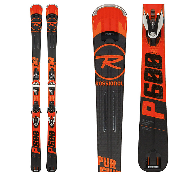 rossignol pursuit 600 cam skis with spx 12 konect bindings. Black Bedroom Furniture Sets. Home Design Ideas