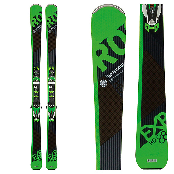 Rossignol Experience 88 HD Skis with SPX 12 Konect Bindings 2018, , 600