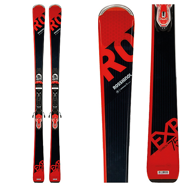 Rossignol Experience 75 CA Skis with Xpress 10 Bindings 2018, , 600