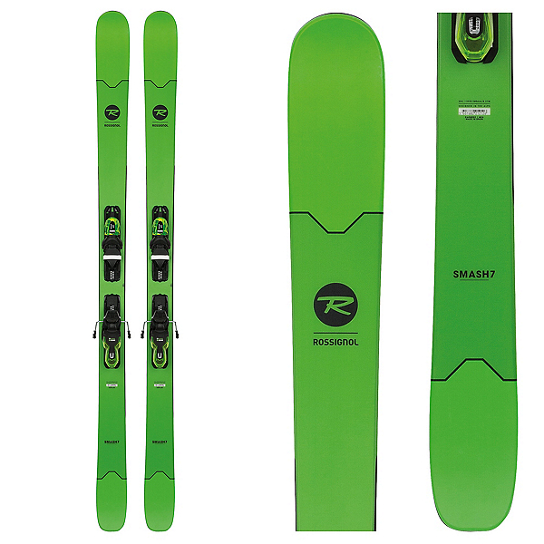 Rossignol Smash 7 Skis with Xpress 11 Bindings 2018, , 600