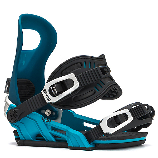 Bent Metal Upshot Womens Snowboard Bindings, Teal, 600
