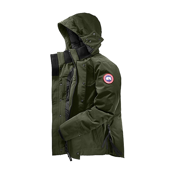 Canada Goose Maitland Parka Mens Jacket, Military Green, 600