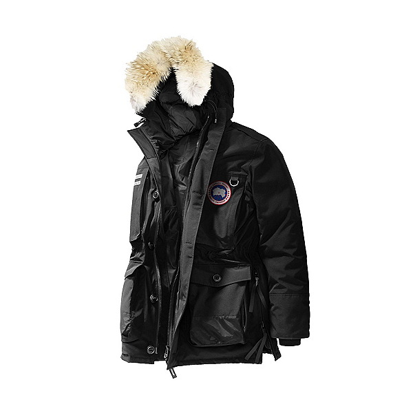 Canada Goose Maccullouch Parka Mens Jacket, Black, 600
