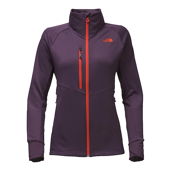 The North Face Powder Guide Womens Mid Layer (Previous Season), Dark Eggplant Purple, 600