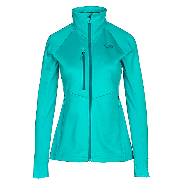 The North Face Powder Guide Womens Mid Layer, Vistula Blue, 600