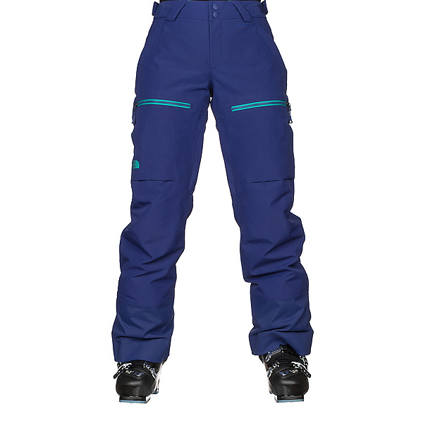 The North Face Powder Guide Womens Ski Pants, Inauguration Blue, 600
