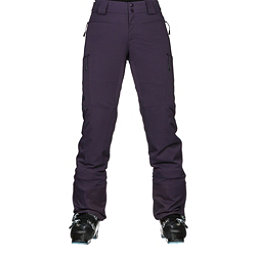 The North Face Powdance Womens Ski Pants, Dark Eggplant Purple, 256