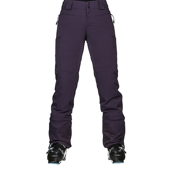 The North Face Powdance Womens Ski Pants (Previous Season), Dark Eggplant Purple, 600