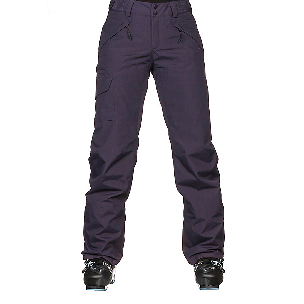 The North Face Freedom Insulated Womens Ski Pants, Dark Eggplant Purple, 600