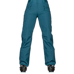 The North Face Freedom Insulated Womens Ski Pants, Egyptian Blue, 256