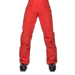 The North Face Freedom Insulated Womens Ski Pants, Fire Brick Red, 256