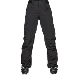The North Face Freedom Insulated Womens Ski Pants, TNF Black, 256
