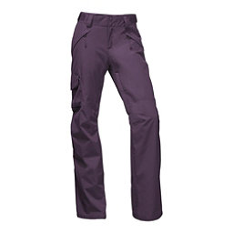 The North Face Freedom Insulated Long Womens Ski Pants, Dark Eggplant Purple, 256