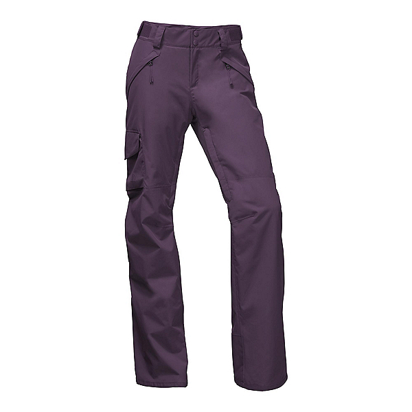 The North Face Freedom Insulated Long Womens Ski Pants, Dark Eggplant Purple, 600