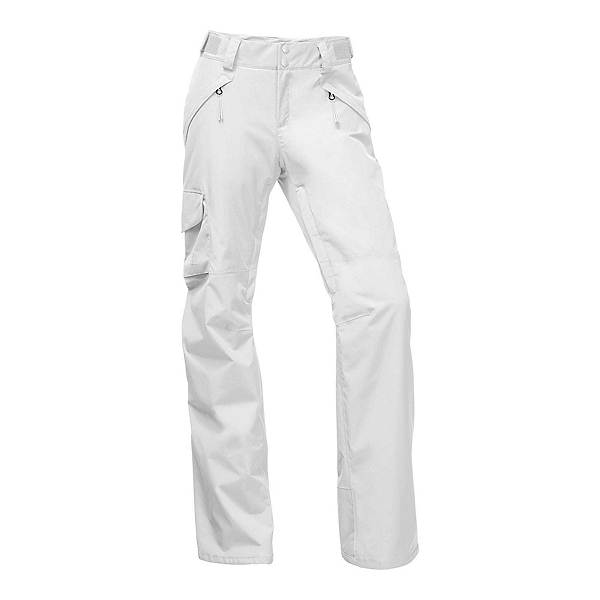 The North Face Freedom Insulated Short Womens Ski Pants, TNF White, 600