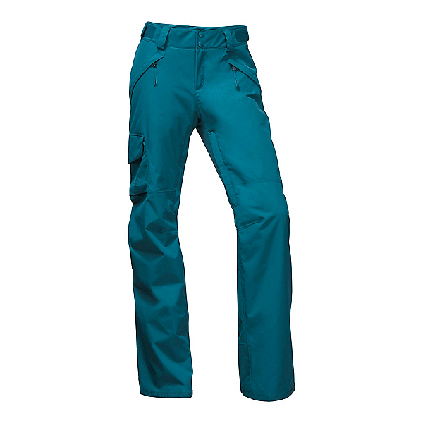The North Face Freedom Insulated Short Womens Ski Pants, Egyptian Blue, 600