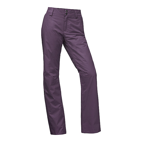 The North Face Sally Long Womens Ski Pants, Dark Eggplant Purple, 600