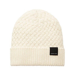 Canada Goose Basket Stitch Toque Womens Hat, Ivory, 256