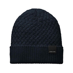 Canada Goose Basket Stitch Toque Womens Hat, Navy, 256