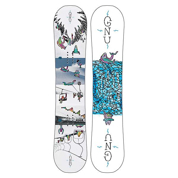 Gnu Recess Asym BTX Boys Snowboard 2019, , 600