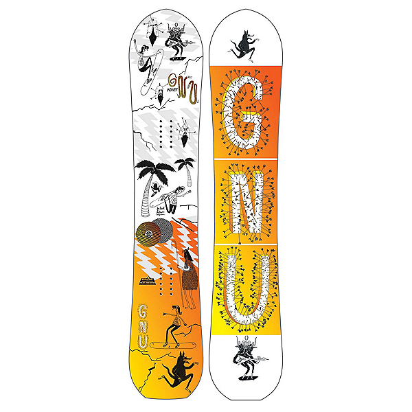 Gnu Money C2E Snowboard 2018, , 600
