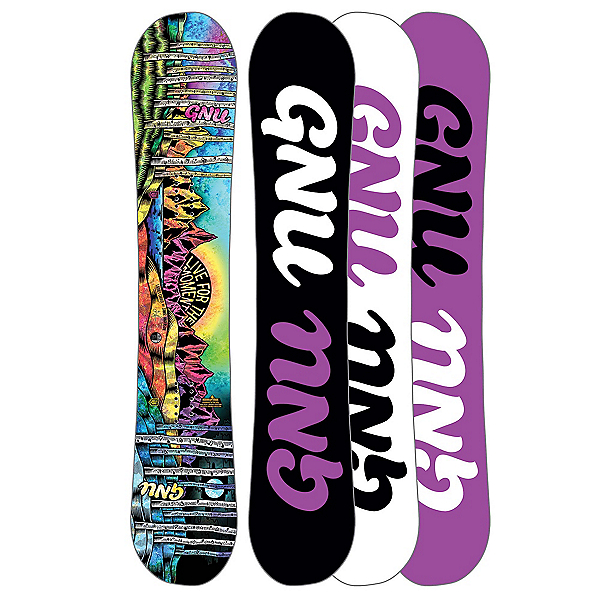 Gnu Ladies Choice Asym C2 Womens Snowboard 2018, , 600