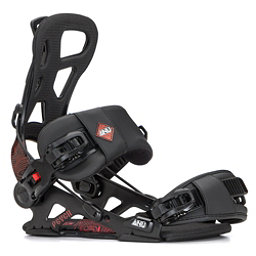 Gnu Psych Snowboard Bindings 2018, Black, 256