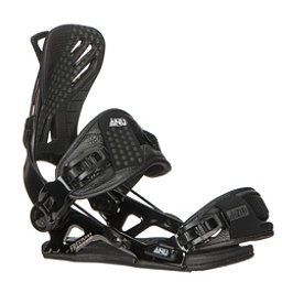 Gnu Freedom Snowboard Bindings 2018, Black, 256
