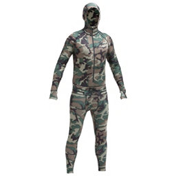 Air Blaster Classic Ninja Suit Mens Long Underwear Top, Camouflage, 256