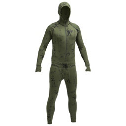 Air Blaster Classic Ninja Suit Mens Long Underwear Top, Modern Athlete, 256