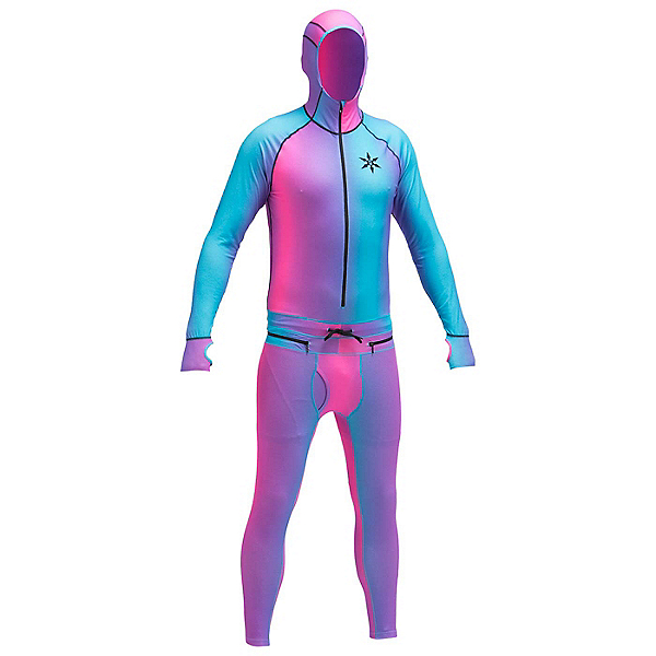 Air Blaster Classic Ninja Suit Mens Long Underwear Top, Gnu Collab, 600