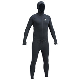 Air Blaster Classic Ninja Suit Mens Long Underwear Top, Black, 256