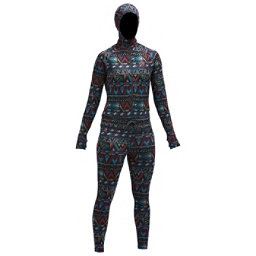 Air Blaster Classic Ninja Womens Long Underwear Top, Wild Tribe, 256