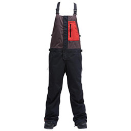 Air Blaster Beast Bib Mens Snowboard Pants, Black, 256