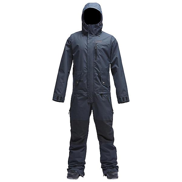 Air Blaster Freedom Suit Mens One Piece Ski Suit, Black, 600