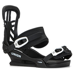 Union T-100 Snowboard Bindings 2018, Black, 256