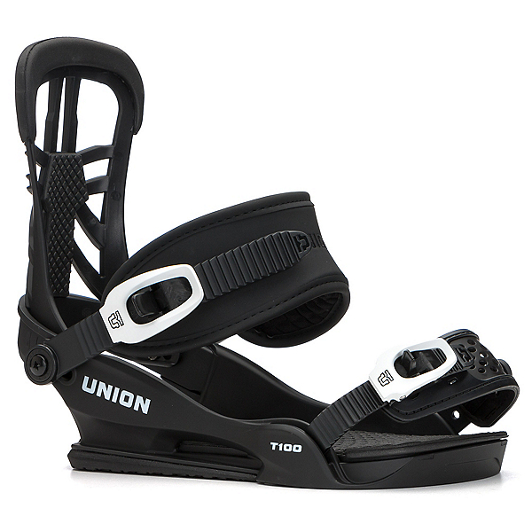Union T-100 Snowboard Bindings 2018, Black, 600