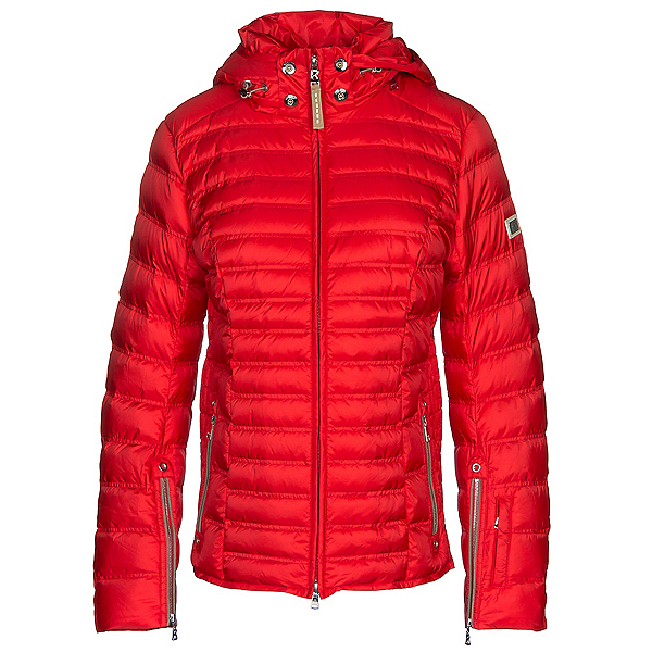 Bogner Nasha Down Womens Insulated Ski Jacket, Hot Red, 600