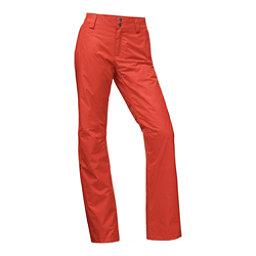 The North Face Sally Short Womens Ski Pants, Ketchup Red, 256
