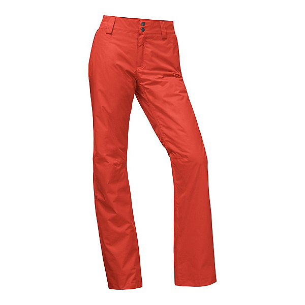 The North Face Sally Short Womens Ski Pants, Ketchup Red, 600