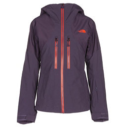 The North Face Powder Guide Womens Insulated Ski Jacket, Dark Eggplant Purple, 256
