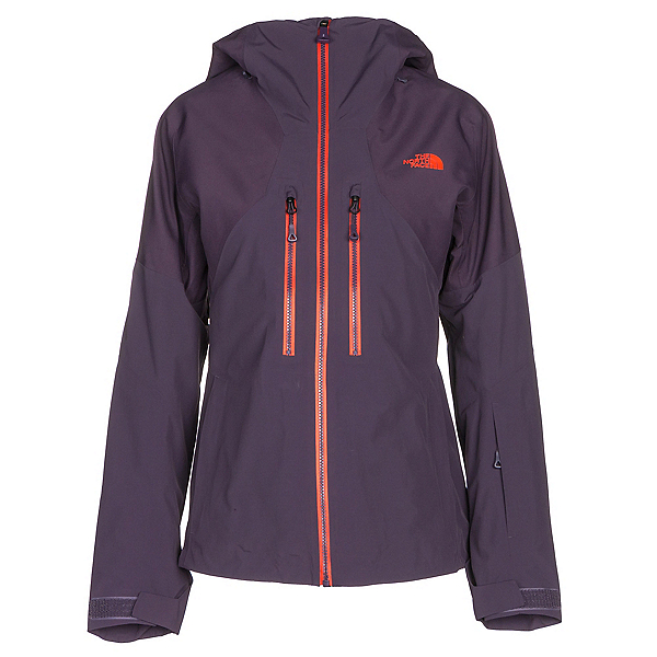 The North Face Powder Guide Womens Insulated Ski Jacket (Previous Season), Dark Eggplant Purple, 600