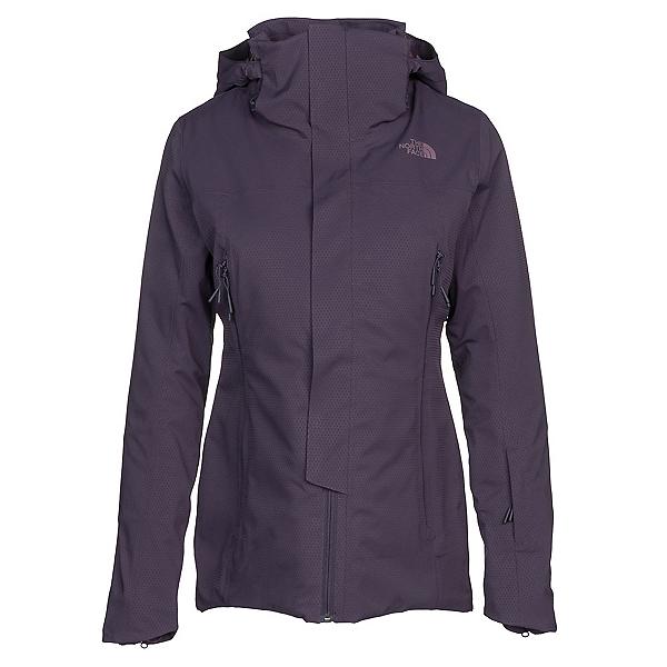 The North Face Powdance Womens Insulated Ski Jacket, Dark Eggplant Purple, 600