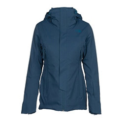 The North Face Powdance Womens Insulated Ski Jacket, Monterey Blue, 256