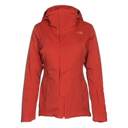 The North Face Powdance Womens Insulated Ski Jacket, Ketchup Red, 256