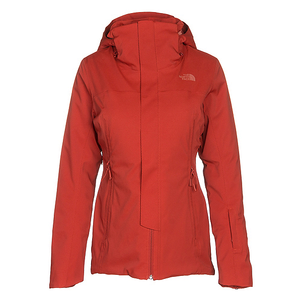 The North Face Powdance Womens Insulated Ski Jacket, Ketchup Red, 600