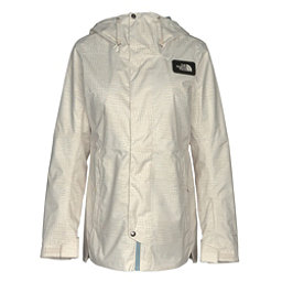 The North Face Superlu Womens Insulated Ski Jacket, Buttercream Ivory Didi Dot Pri, 256